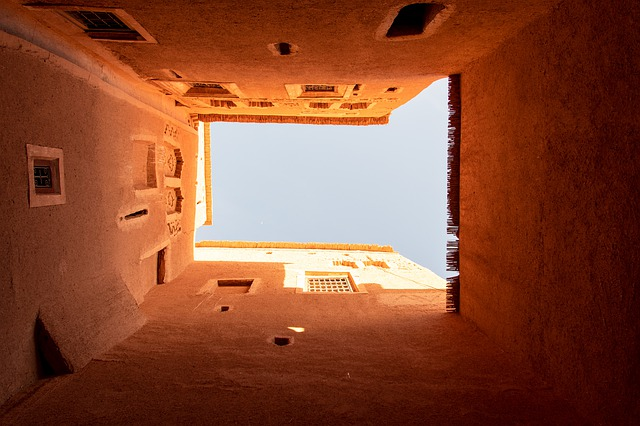 The Riads: the characteristic Berber houses